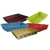La Vannerie d'Aujourd'hui - Corbeille en bambou, divers coloris