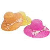 Chapeau pour femme, modèle palmier en couleurs