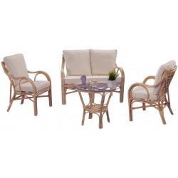 salon en rotin sa gon 4 pi ces la vannerie d 39 aujourd 39 hui. Black Bedroom Furniture Sets. Home Design Ideas