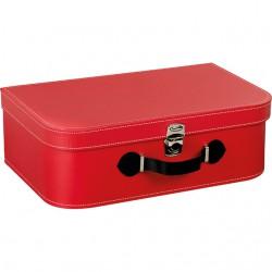 La Vannerie d'Aujourd'hui - Valise rectangulaire rouge