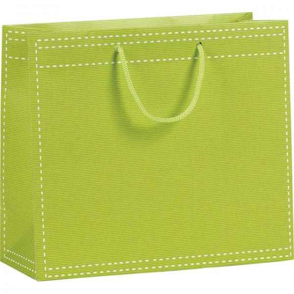 Sac en papier vert anis for Sac en papier