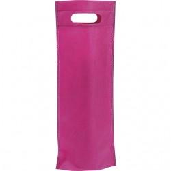 Sac en polypropylène intissé bouteilles rose