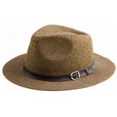 Chapeau Panama Brun
