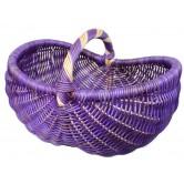 La Vannerie d'Aujourd'hui - Panier en rotin violet