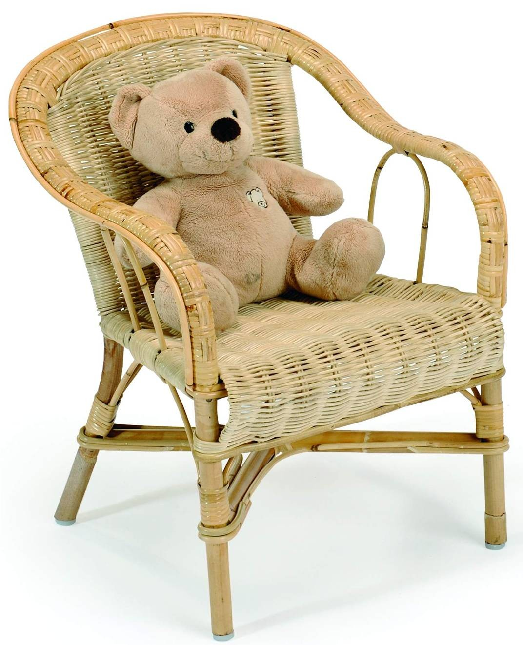 Fauteuil Enfant Rotin Crapaud