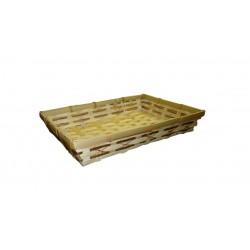 La Vannerie d'Aujourd'hui - Corbeille en bambou naturel
