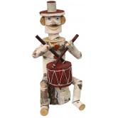 La Vannerie d'Aujourd'hui - Personnage tambourineur en bouleau