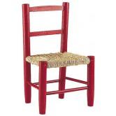 La Vannerie d'Aujourd'hui - Chaise pour enfant en bois, assise paille