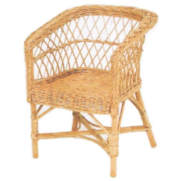 fauteuil enfant osier assise carr e la vannerie d. Black Bedroom Furniture Sets. Home Design Ideas