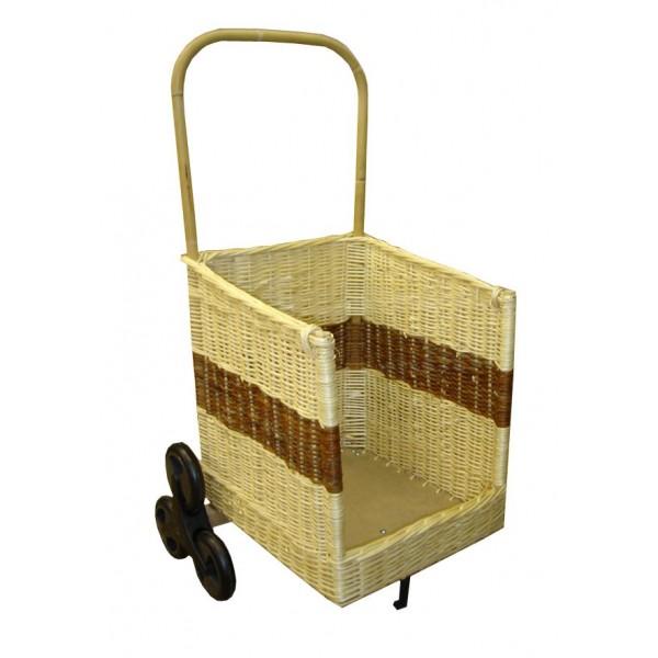 panier a bois sur roulettes 10 chariot 224 bois 1 2 rond 6 roues remc homes