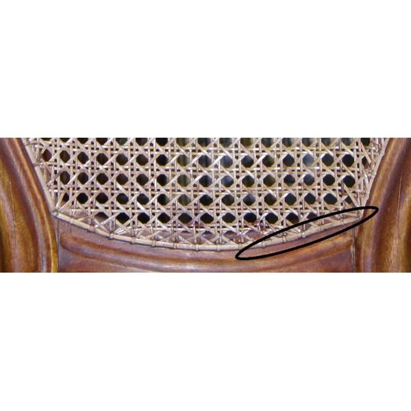 Canne de rotin 3.5 mm pour finition assise de chaise