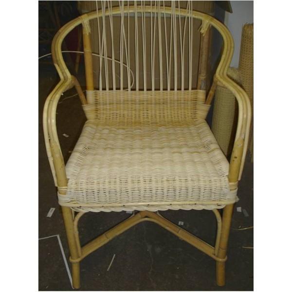 fauteuil haut dossier moelle de rotin la vannerie d 39 aujourd 39 hui. Black Bedroom Furniture Sets. Home Design Ideas