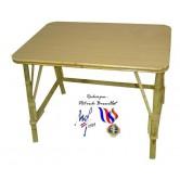 La Vannerie d'Aujourd'hui - Table ronde pour enfant en rotin et bois
