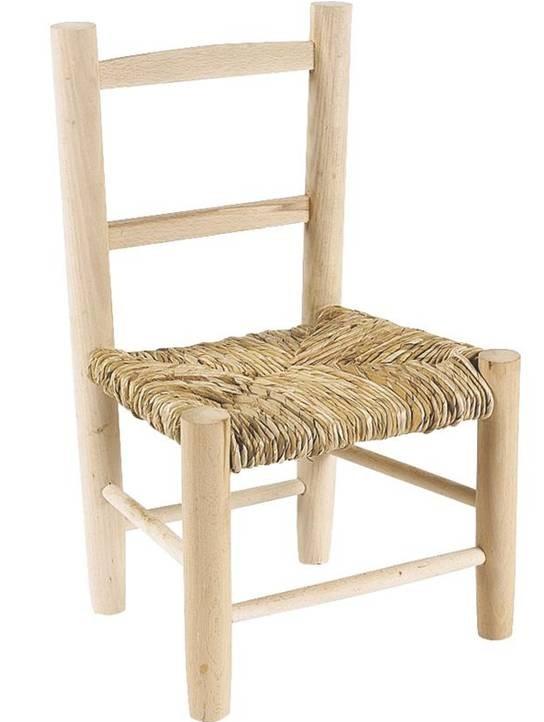 Peindre une chaise en bois chaise chaise enfant en bois et paille rnovation duune chaise - Renover une chaise en bois ...