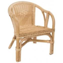 Fauteuil enfant edgar en rotin la vannerie d 39 aujourd 39 hui - Peindre fauteuil en rotin ...