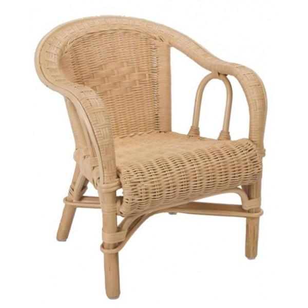 fauteuil enfant edgar en rotin la vannerie d 39 aujourd 39 hui