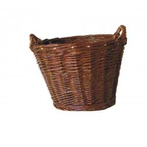 La Vannerie d'Aujourd'hui - Corbeille (mannequin ou baugeotte) à bois en osier pour les récoltes, le bois ou le rangement