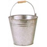 Seau zinc lourd 8 L 10 L 15 L