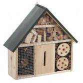 Maison à insectes bois mural