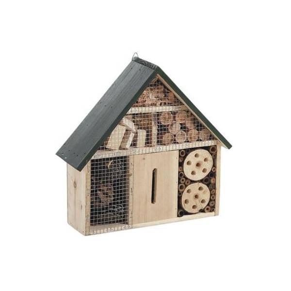 Maison insectes bois mural la vannerie d 39 aujourd 39 hui - Insecte de bois maison ...