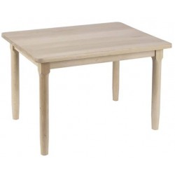 Table enfant hêtre naturel verni