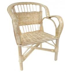 fauteuil crapaud osier blanc la vannerie d 39 aujourd 39 hui. Black Bedroom Furniture Sets. Home Design Ideas