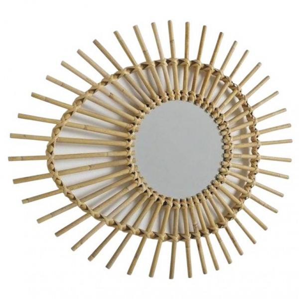 Miroir en rotin oeuf la vannerie d 39 aujourd 39 hui for Le rotin d aujourd hui