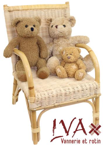 Fayl Billot (France) rattan child chair - La Vannerie d'Aujourd'hui - for sale on our website