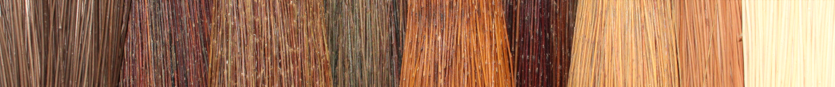 La Vannerie d'Aujourd'hui - Les différentes couleurs de l'osier