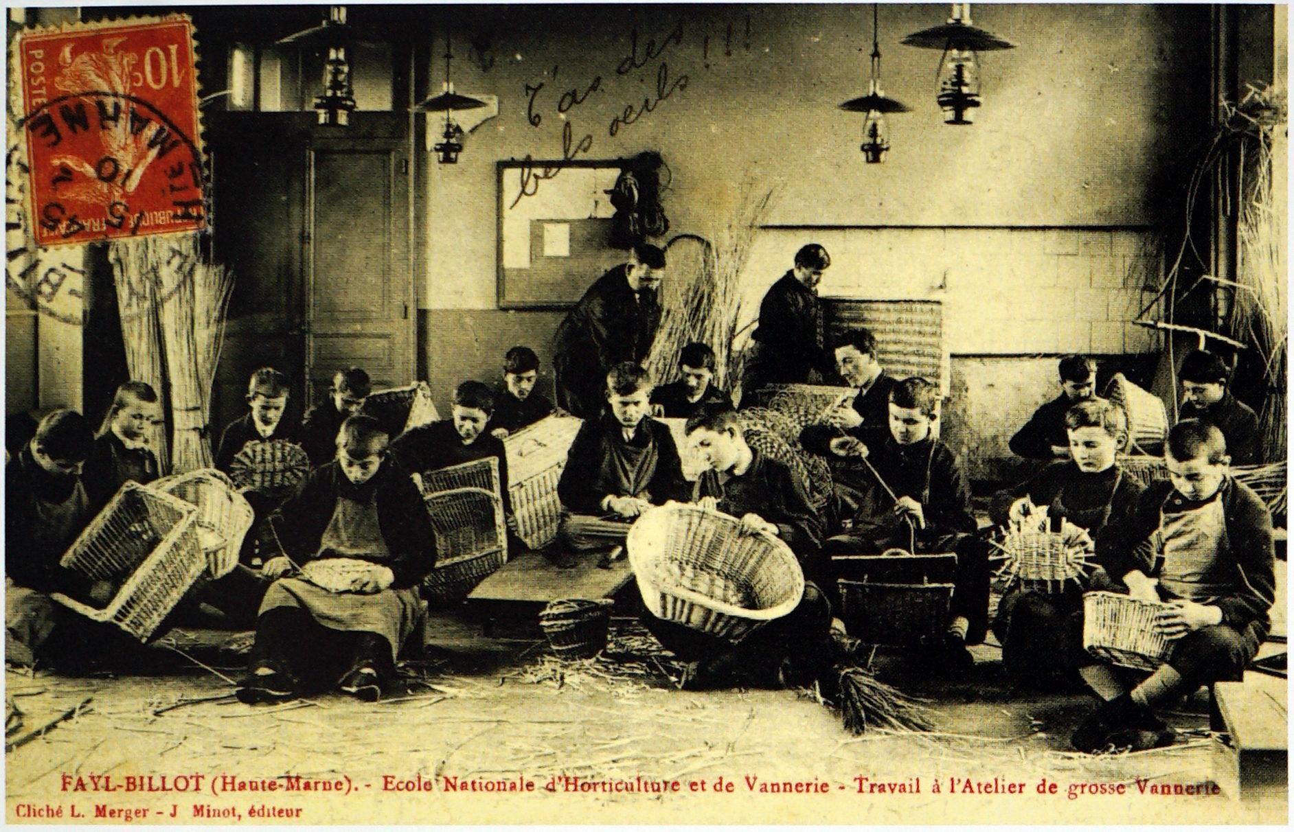 Ecole de Vannerie de Fayl Billot (52)