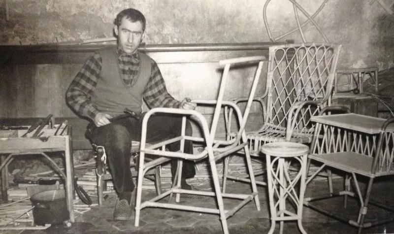 Bernard Breuillot au travail