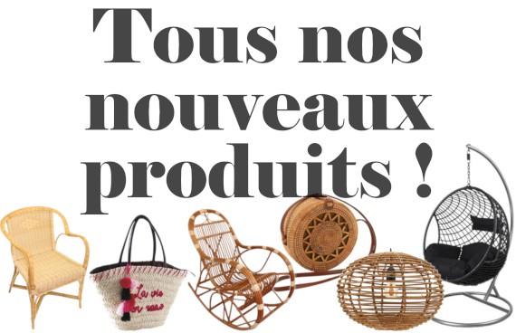 Nouveaux produits en vente - La Vannerie d'Aujourd'hui