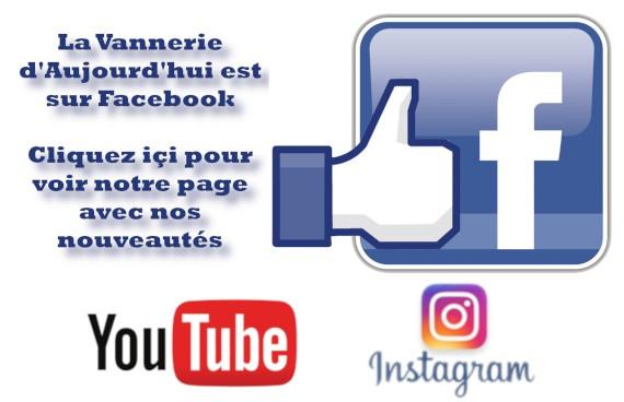 La Vannerie d'Aujourd'hui - Facebook, Youtube & Instagram