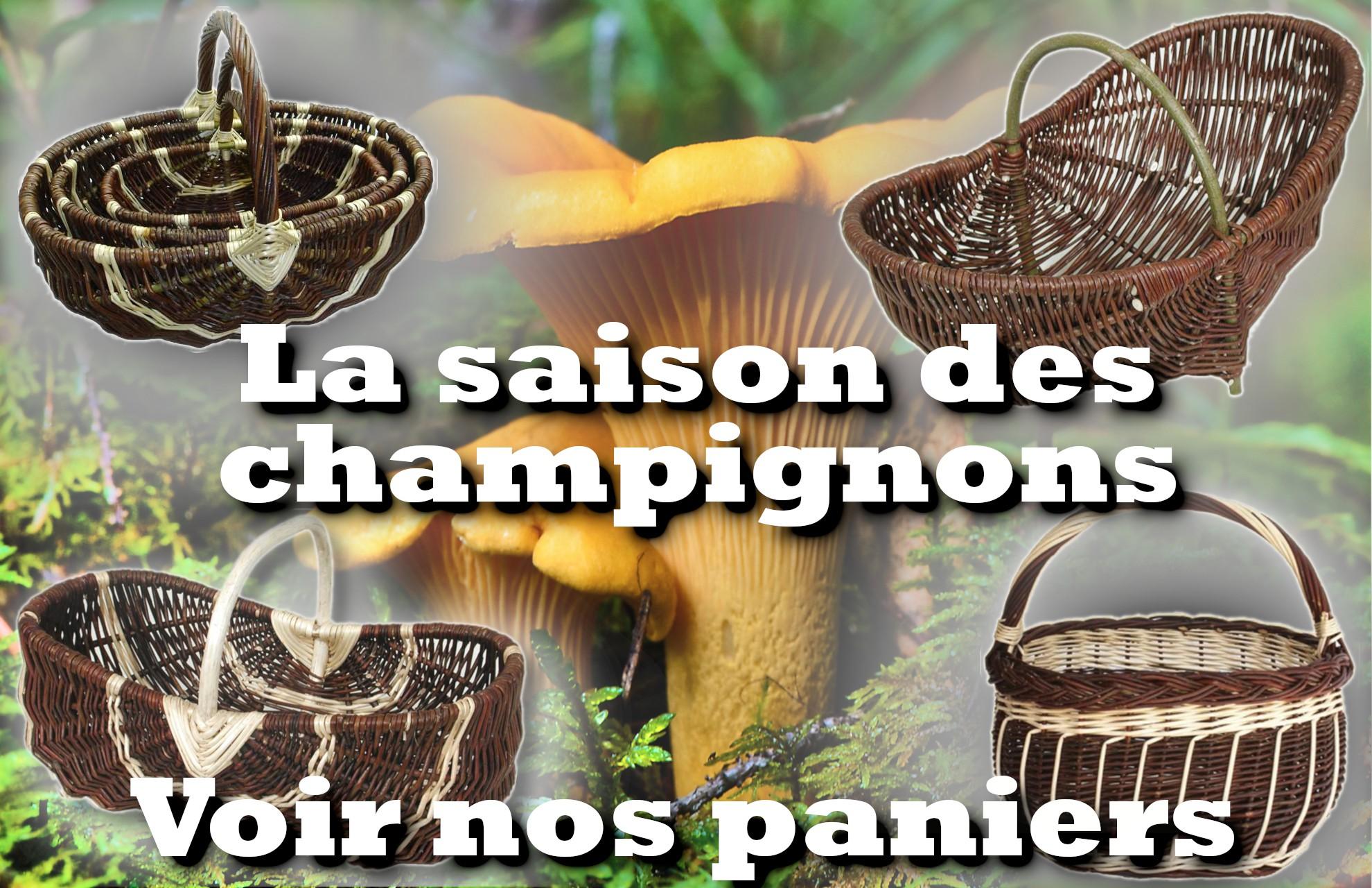 La Vannerie d'Aujourd'hui - Paniers à champignons